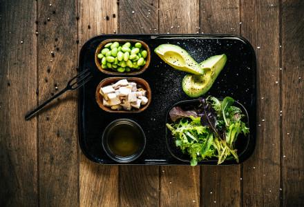Salade super protéinée